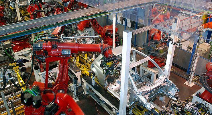 Fiat-Produktion in Polen