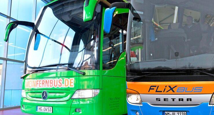FlixBus, MeinFernbus, Fusion