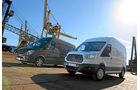 Ford Transit gegen Mercedes Sprinter, Vergleichstest
