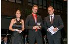 Frachtenbörsen, v. li.: Alexandra von Lingen, Christof Thesinga, TimoCom Soft- und Hardware, Oliver Trost