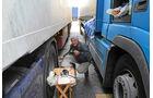 Frachtpreise im Wandel, Fahrer, Lkw, Bulgarien
