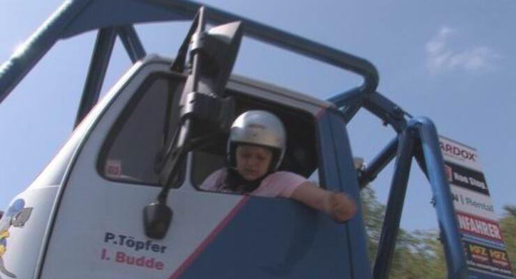 Frauenpower beim Truck Trial