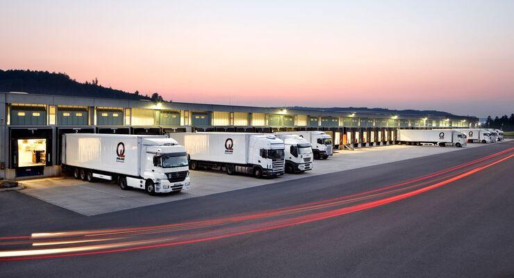 Fünf Gesellschafter gründeten 1995 die Firma Online Systemlogistik als Verbund für deutschlandweite Stückguttransporte.