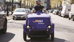 GLS, eScooter, letzte Meile, Zustellung
