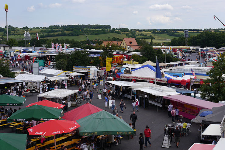 Geiselwind, Trucker Festival, 2011, Autohof