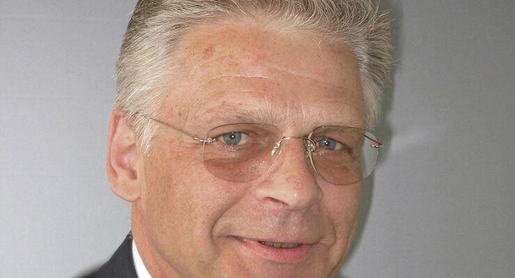 Gert Hebert, Präsident des Bundesverbands Möbelspedition und Logistik (AMÖ)