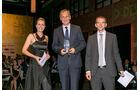 Gesamtwerung: Pickup, v. li.: Alexandra von Lingen, Dr. Eckhard Scholz, Volkswagen Nutzfahrzeuge, Matthias Rathmann
