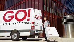 Go! Express & Logistics, Zusteller, Pakete, letzte Meile