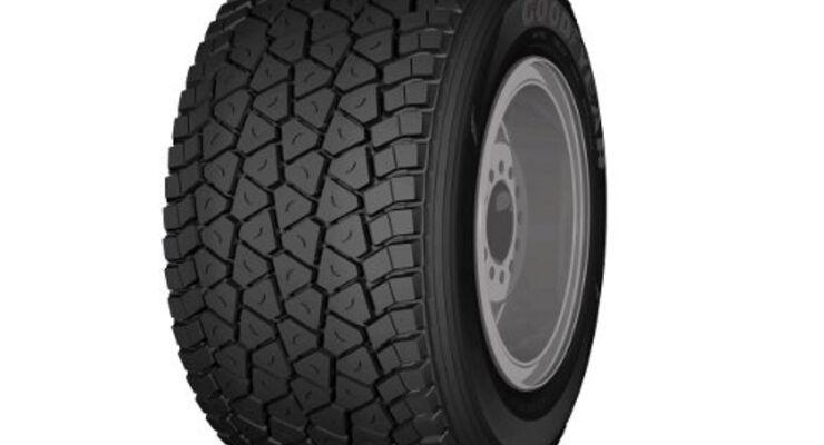 Goodyear: Mehr Tonnage dank neuer Reifen