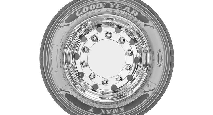 Goodyear Tiefladerreifen Kmax T 215-75R17,5