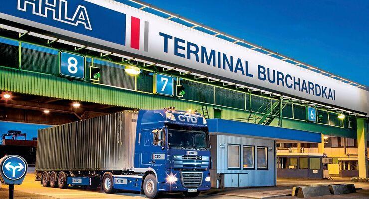Hamburger Hafen, Logistik