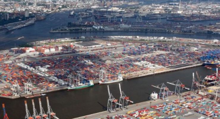 Hamburger Hafen spürt Konjunkturwandel