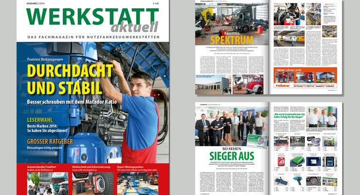 Hefttitel Werkstatt aktuell 2/14