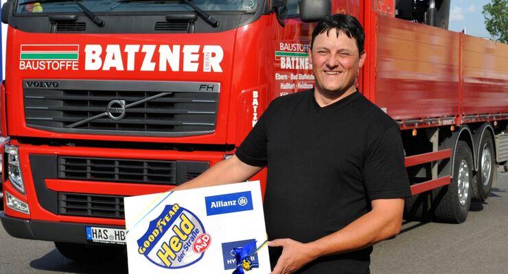 Held der Straße Juni 2012, Bern Appelmann, Lkw-Fahrer