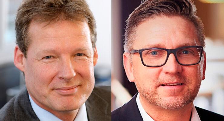 Hermes: Marc Dessing (links) geht, Marco Schlüter rückt auf.