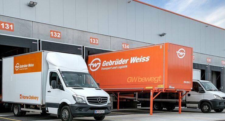 Home Delivery bei Gebrüder Weiss