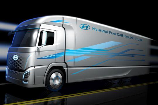 Hyundai Brennstoffzellen-Lkw