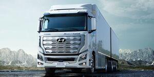 Hyundai Xcient Fuel Cell Brennstoffzellen-Lkw