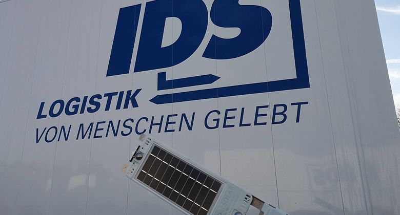 IDS Logistik setzt auf solarbetriebene GPS-Module.