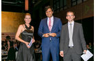 Importwertung: Lieferwagen, v. li.: Alexandra von Lingen, Danio Carboni, FCA Germany AG, Matthias Rathmann