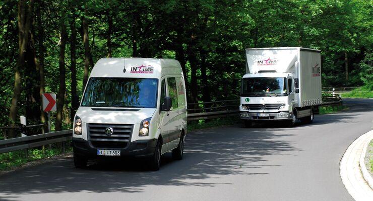 In Time Express Logistik, Sprinter, Verteiler, Lkw