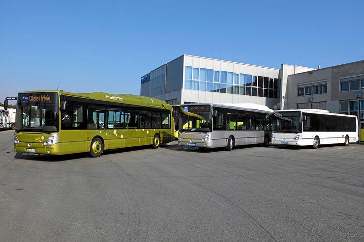 Irisbus Citelis Hybrid und CNG