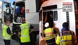 Jans Blog, Lkw-Kontrollen, BAG, Polizei