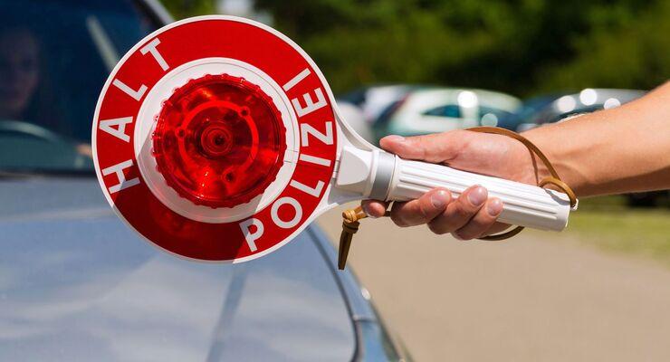 Kelle, Halt, Polizei, Punkteregelung