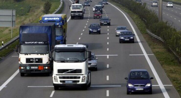Kritische Situation im Straßengüterverkehr