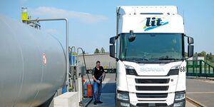 L.I.T., L.I.T.-Tankstelle Oebisfelde, Swiss Kiss Petrol, VTM fair