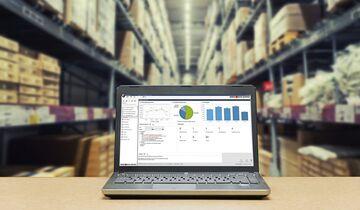 Lagerlösung von Weber Data Service