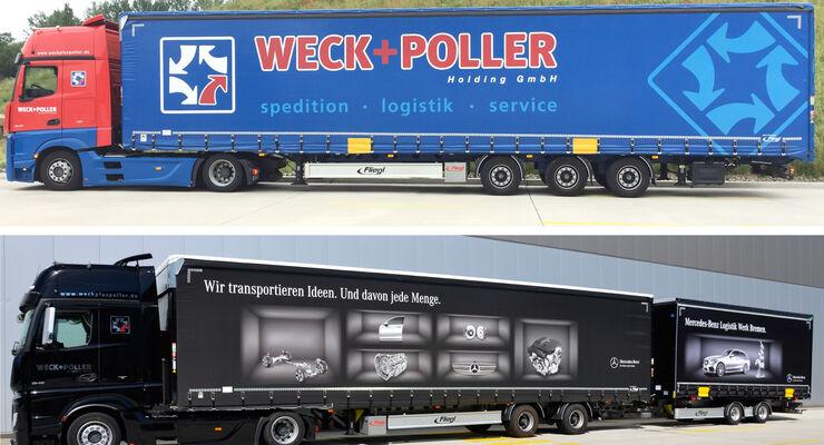 Lang-Lkw Weck + Poller