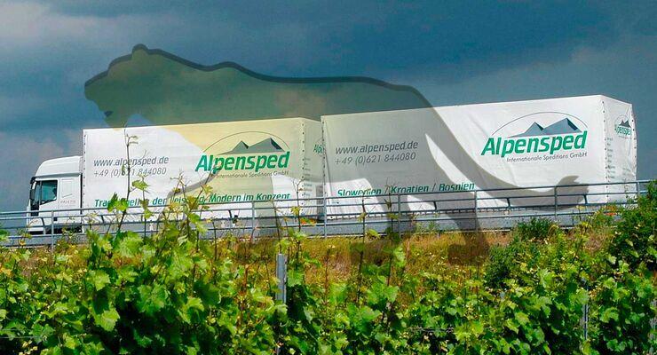 Lea-Mittelstandspreis für Alpensped