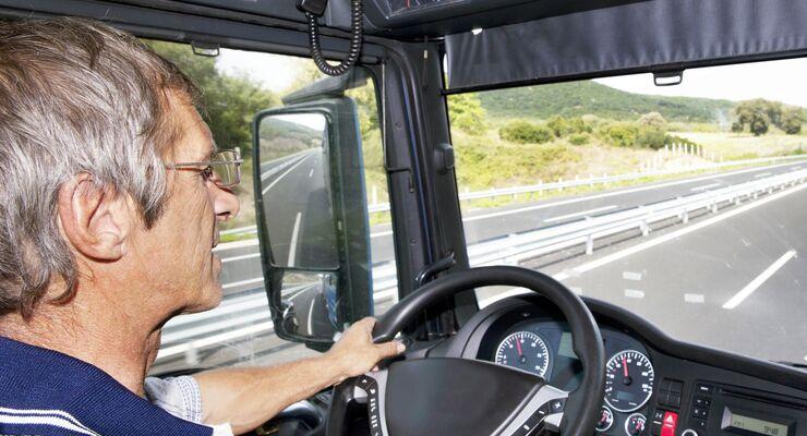 Lkw, Fahrer, Arbeitsmarkt