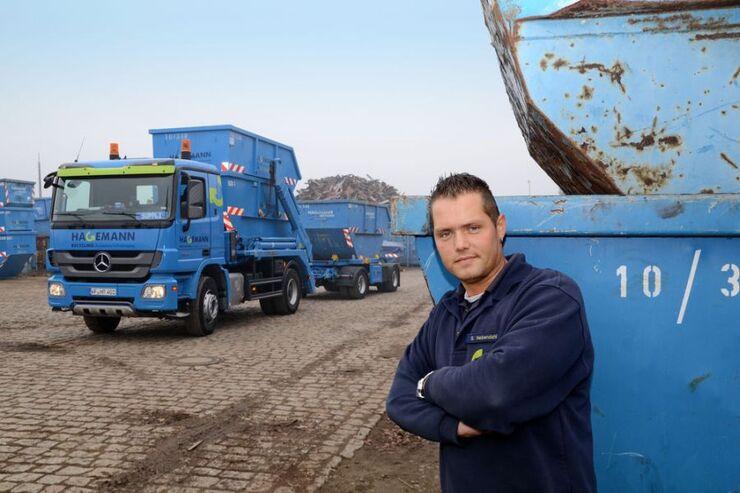 Lkw-Fahrer Steven Nebendahl