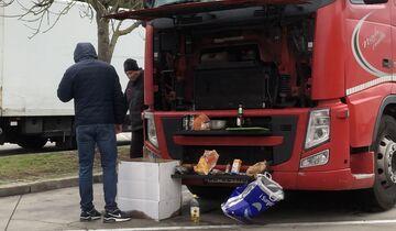 Lkw-Fahrer, betrunken, Alkohol am Steuer, Lenk- und Ruhezeiten