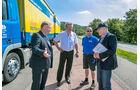 Lkw-Tour mit Minister Hermann