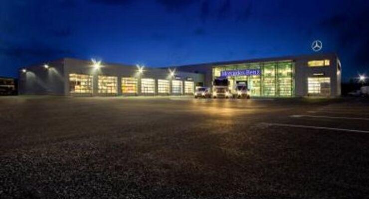 Lkw-Zentrum in Berlin eröffnet