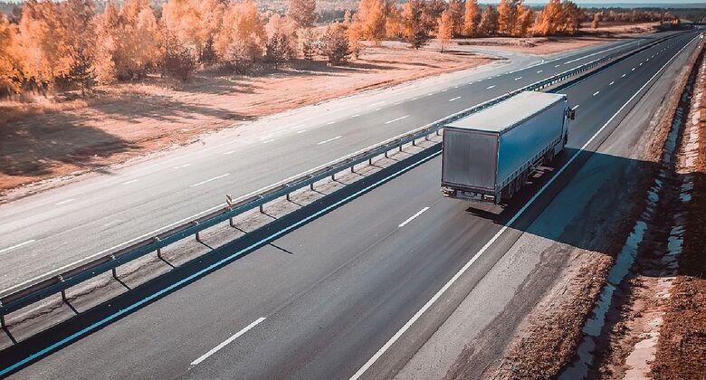 Lkw im Auftrag von Trucksters unterwegs