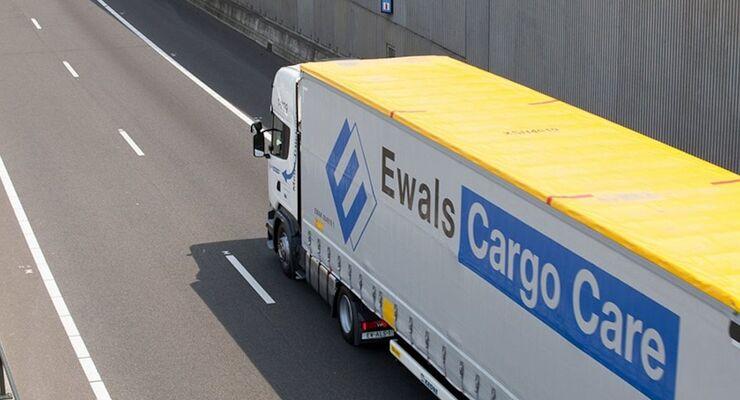 Lkw von Ewals Cargo Care