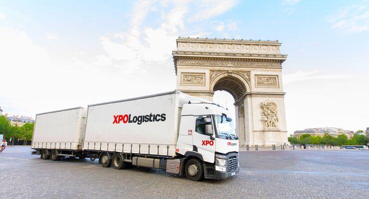 Lkw von XPO Logistics Europe