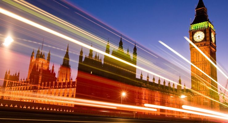 London, Großbritannien, England, Big Ben, Turm, Uhr, Nacht, nachts, Parlament, Hauptstadt, Brexit