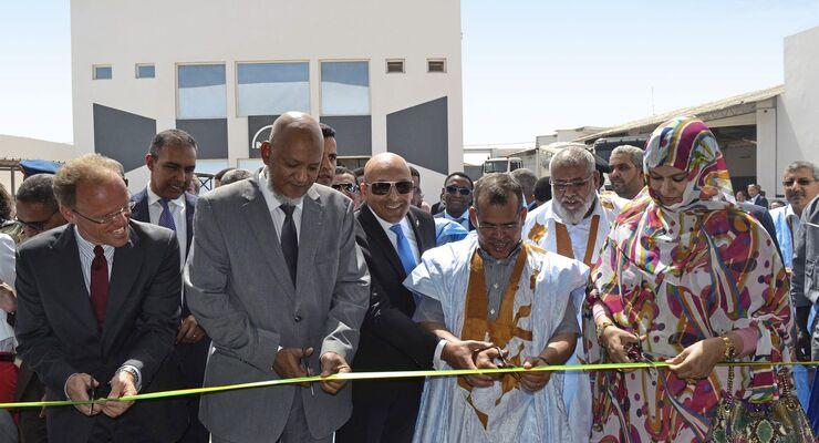 MAN, Service, Mauretanien
