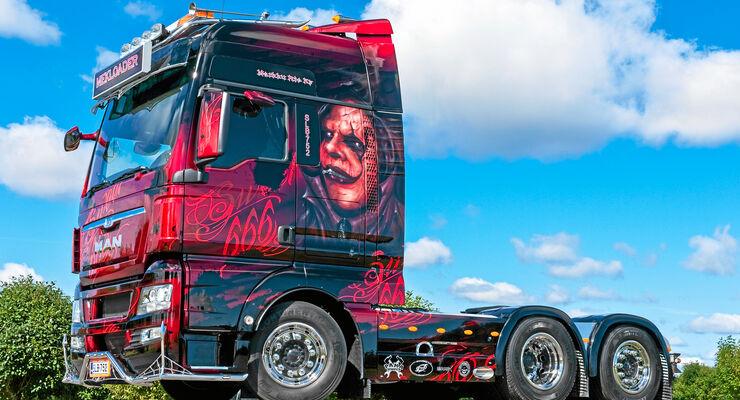MAN TGX Markku Rio Sweet 666, Mekloader, Truck