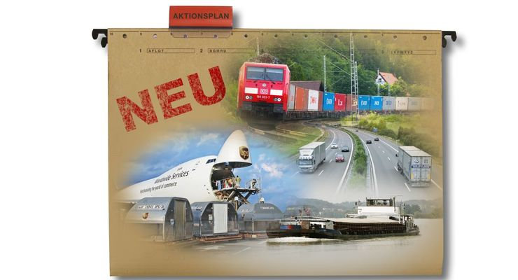 Masterplan, Güterverkehr und Logistik