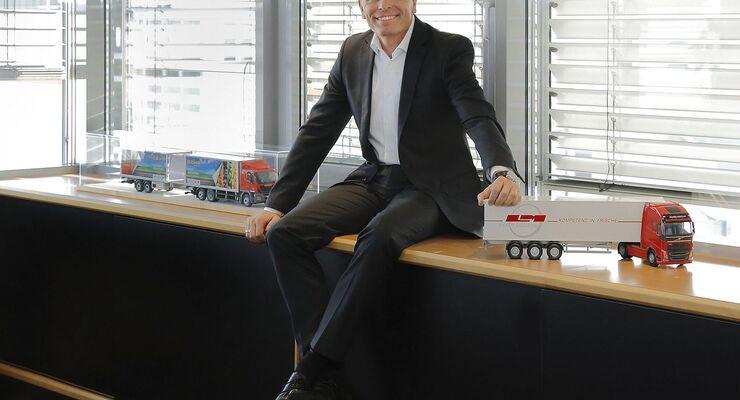 Matthias Strehl, Geschäftsführer von Meyer Logistik.