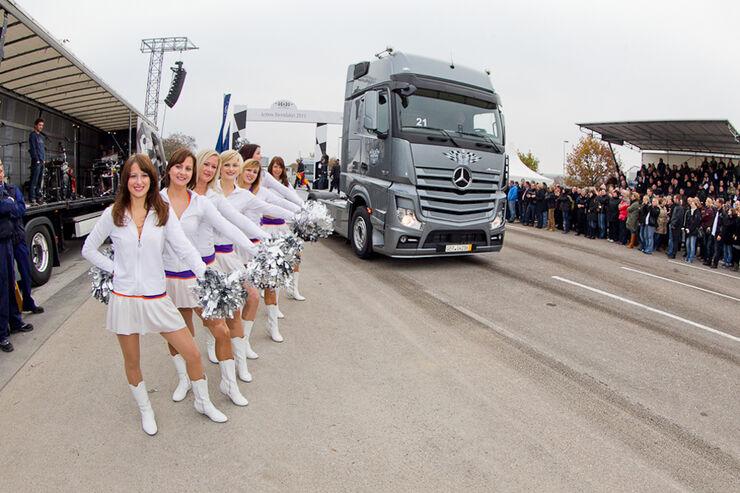 Mercedes Actros, Vorführwagen, Daimler-Werk, Wörth