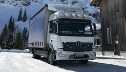 Mercedes Actros im Schnee (2017)