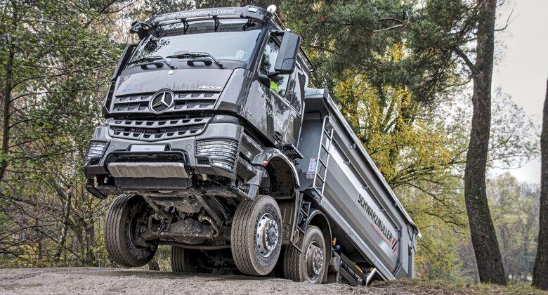 Mercedes-Benz Arocs 8x8 (2018)