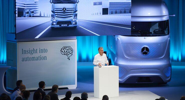 Mercedes-Benz Lkw FutureLab 2018